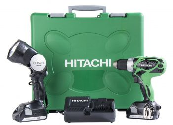 Hitachi DS18DSAL 18-Volt Lithium Ion Compact Pro Driver Drill with Flashlight