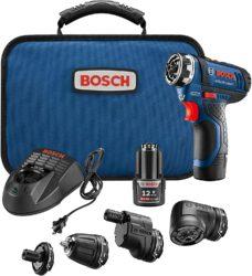 Bosch GSR12V-140FCB22 Cordless Electric Screwdriver 12V Kit